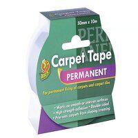 Duck Tape® Permanent Carpet Tape 50mm x 10m