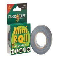 Duck Tape® Mini Roll 25mm x 10m Black