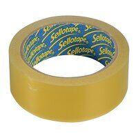 Sellotape Blister Pack 24mm x 50m Golden