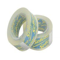 Sellotape On-Hand Refill 18mm x 15m Clear (Pack 2)