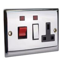 Switched Cooker Control Unit Neon 45A 1-...