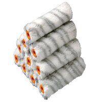 Medium Pile Silver Stripe Sleeve 100mm (4in) 10 Pa...