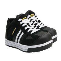 Cody Black/White Stripe Safety Trainers UK 6 EUR 3...