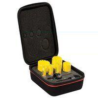 KDC07021 Deep Cut Bi-Metal Plumber's Holesaw Kit, 9 Piece