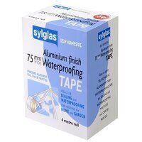 Aluminium Finish Waterproofing Tape 75mm x 4m