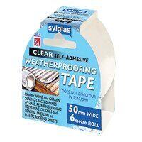 Weatherproofing Tape 50mm x 6m Clear