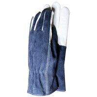 TGL418L Premium Leather & Suede Men's Gloves - Large