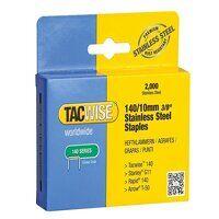 140 Stainless Steel Staples 10mm (Pack 2000)