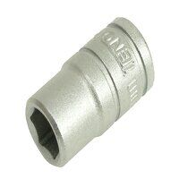 Hexagon Socket 6-Point Regular 1/2in Drive 15mm