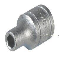 Hexagon Socket 6 Point Regular 1/4in Drive 11mm