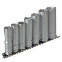 M3807 Socket Clip Rail Set of 7 Metric 3...