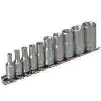 M3814 Socket Clip Rail TX-E Set of 10 3/...