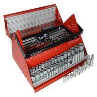 TC187 Mega Rosso Tool Kit Set of 187 1/4...