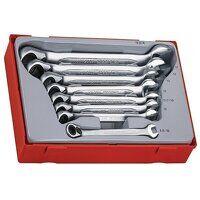 TT6508R Metric Ratchet Combination Spanner Set, 8 ...