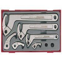 TTHP08 Hook & Pin Wrench Set, 8 Piece