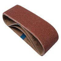 Sanding Belt 75 x 533mm 80G (Pack 3)