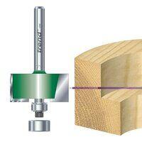 C040 x 1/4 TCT Bearing Guided Rebater 35.0mm