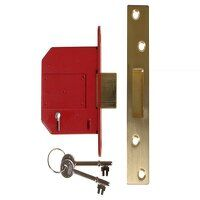 StrongBOLT 2100S BS 5 Lever Mortice Deadlock 81mm ...
