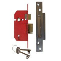 StrongBOLT 2200S BS 5 Lever Mortice Sashlock Satin...