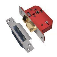 StrongBOLT 22WCS Mortice Bathroom Lock Stainless S...