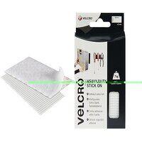VELCRO® Brand Heavy-Duty Stick On Strips (2) 50 x100mm White