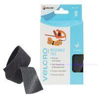 VELCRO® Brand ONE-WRAP® Reusable Ties 30mm x 5m Bl...
