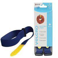 VELCRO® Brand Adjustable Straps(2) 25mm x 92cm Blu...