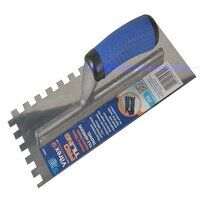 Professional Notched Adhesive Trowel 10mm Stainless Steel 11 x 4.1/2in