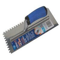 Professional Notched Adhesive Trowel 6mm Stainless...