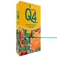Q4 Pelleted Fertilizer 0.9kg Box