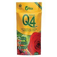 Q4 Pelleted Fertilizer 0.9kg Pouch