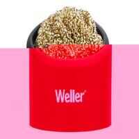 Brass Wire Sponge Cleaner with Holder
