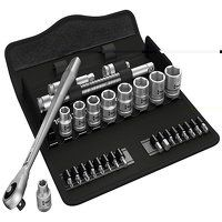 8100 SB 7 Zyklop Metal Push Ratchet & Socket Set o...
