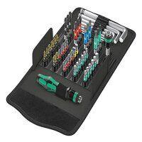 Kraftform Kompakt 100 Screwdriving Service Bit Set, 52 Piece