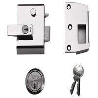 P2 Double Locking Nightlatch 40mm Backset DMG/PB F...