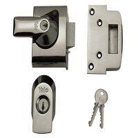 BS2 Nightlatch British Standard Lock 40mm Backset ...