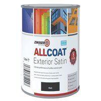 AllCoat® Exterior Black 1 litre