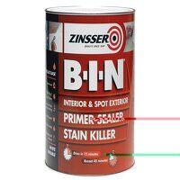 B.I.N® Primer, Sealer & Stain Killer Paint White 2...