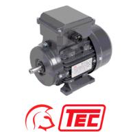 TEC 1.1kW Foot Mount 1500pm 4 Pole Cap Run/Perm Cap 1ph Electric Motor