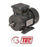 TEC IE2 Electric Motor 1.1kW 3ph 4 Pole B3 Foot Mo...