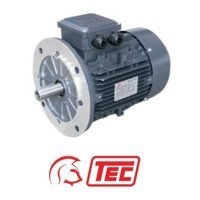 TEC IE2 Electric Motor 4kW 3ph 2 Pole B5 Flange Mounted, 100 Frame