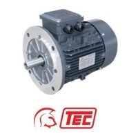 TEC IE2 Electric Motor 4kW 3ph 4 Pole B5 Flange Mounted, 100 Frame