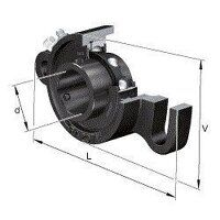 UCFA209 FAG 45mm Take Up Swivel Motion Bearing - B...