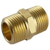 UP1-38 3/8inch BSPT Tapered Equal Male Adapter