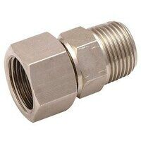 2110-14 1/4inch BSPT Swivel Equal Connector