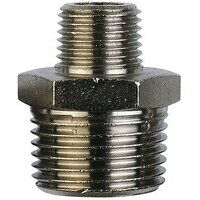 TN3812 3/8inch BSP to 1/2inch Tapered Reducing Nipple Threaded Adaptor
