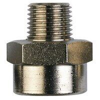RL17/21K 3/8inch BSPT to 1/2inch BSPP Male x Femal...