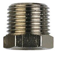 RK13/21K 1/2inch BSPT to 1/4inch BSPP Tapered Redu...