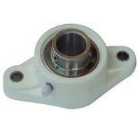 TP-SUCFL208 40mm Thermoplastic 2 Bolt Flanged Bear...