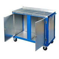 Tool Trolley - Double Doors with Castors...